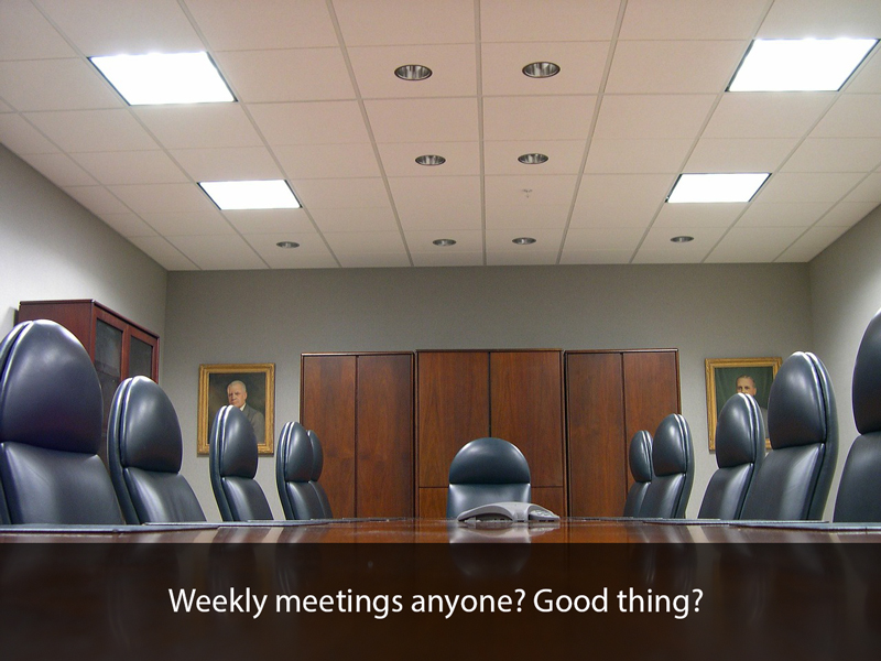 weekly-meetings