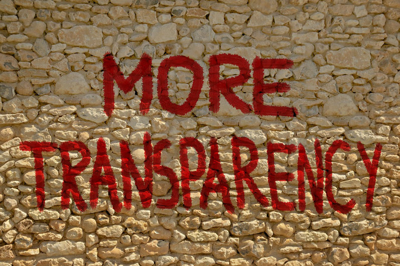 moretransparency