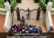 """Through the Pipeline: Solving the Leadership """"Shortage"""" with Leadership Pipelines"""