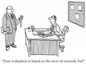 performance review in 30 seconds